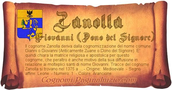 Nome Zanolla