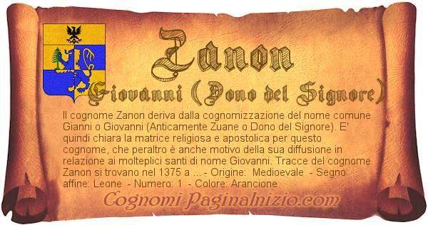 Nome Zanon