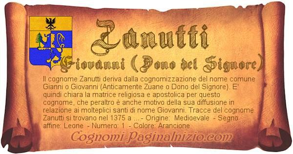 Nome Zanutti