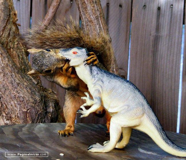 Non ho mai baciato un dinosauro...