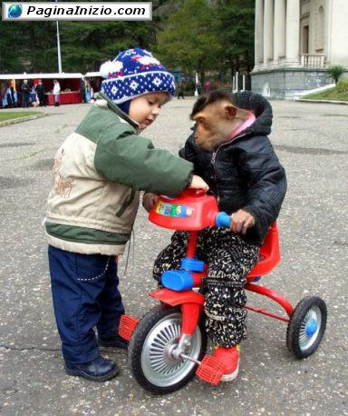 Ti insegno io a pedalare!