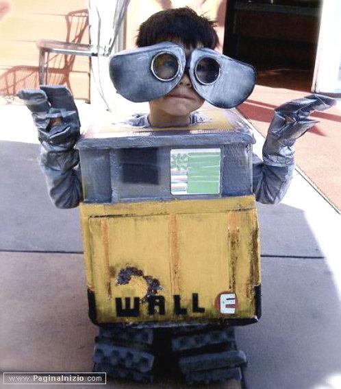Ciao, sono Wall E in persona!