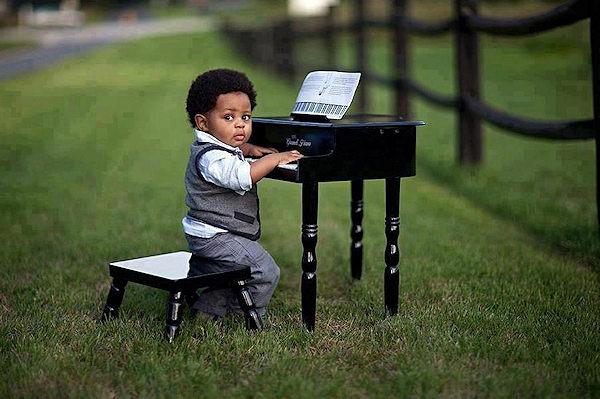 Adoro suonare il pianoforte!