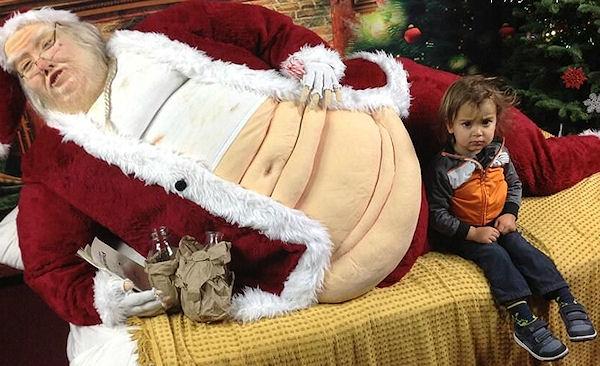 Babbo Natale non lo immaginavo così!