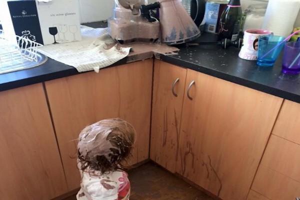 Bambino vs frullatore