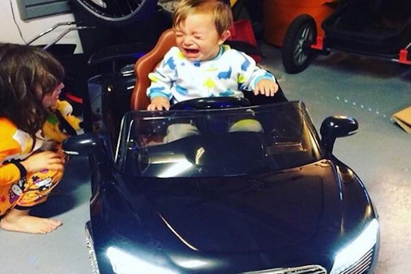 Avevo detto che volevo la Ferrari!