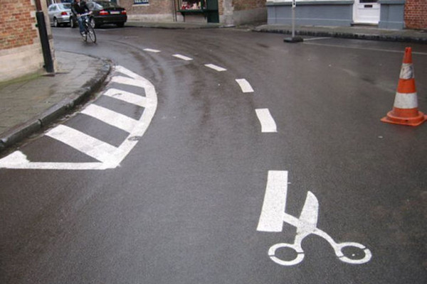 Street art pedonale
