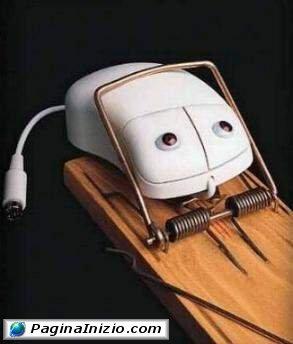 Trappola per mouse!