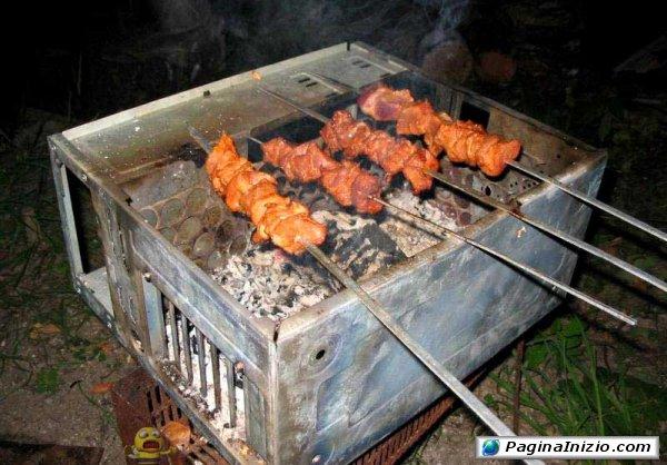 Cottura high tech su barbecase
