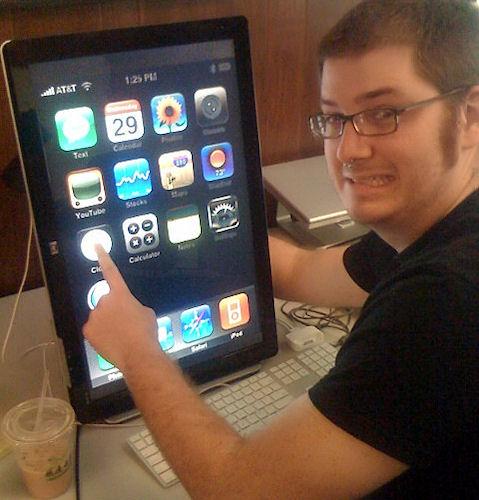 Monitor o tablet?