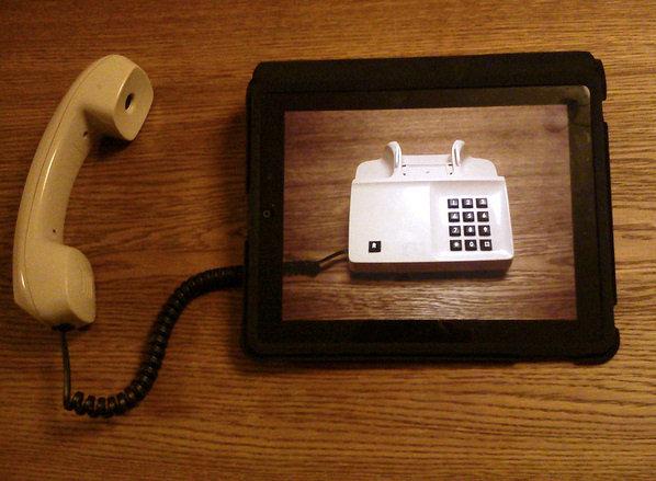 Un telefono virtuale!