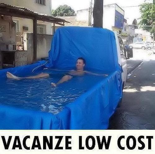 Una piscina su ruote