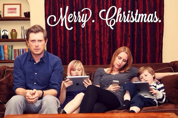 Felice Natale in famiglia...