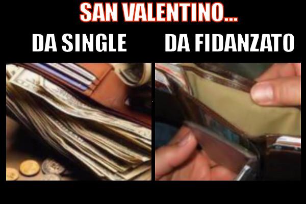 Il portafoglio a San Valentino