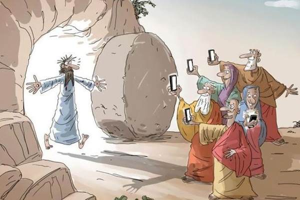 Resurrezione da immortalare