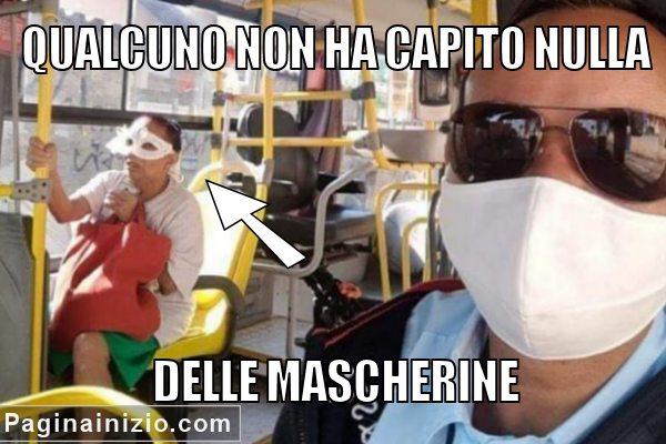 L'uso delle mascherine