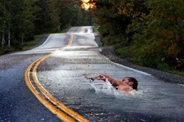 Un nuotatore atipico