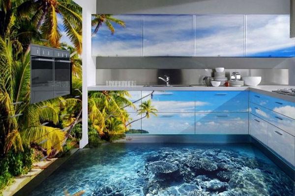 Il mare in una stanza