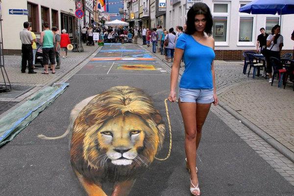 Portare a spasso un leone