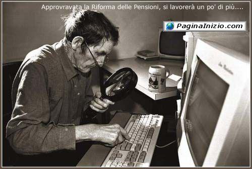 Quando la pensione diventa un optional...