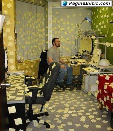 Un ufficio...giallo!