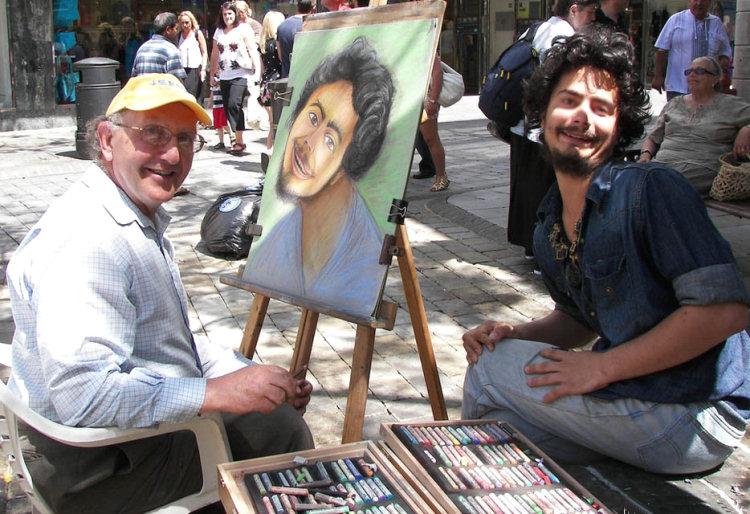 Un pittore provetto, peccato per il soggetto...
