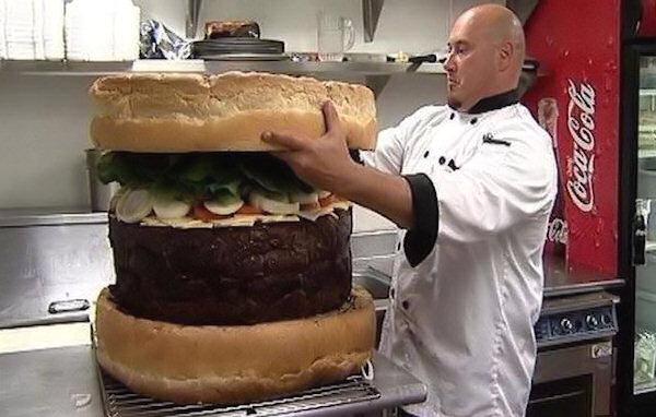 Man versus food