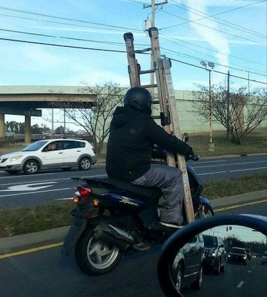 Ho detto No al traffico, ma Sì allo scooter