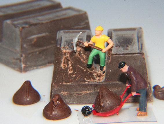 Come nascono i cioccolatini