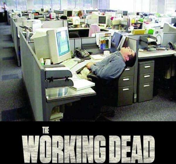 Zombies in ufficio...