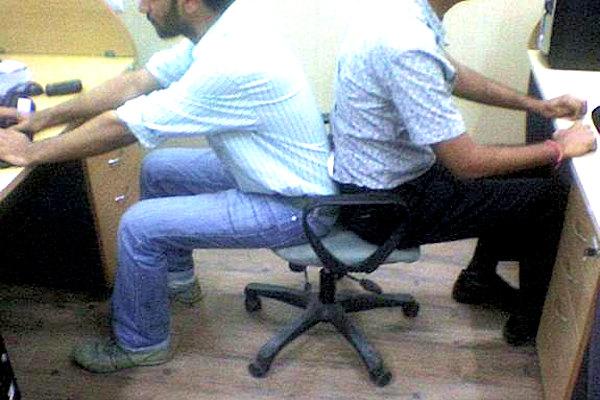 Una sedia per due
