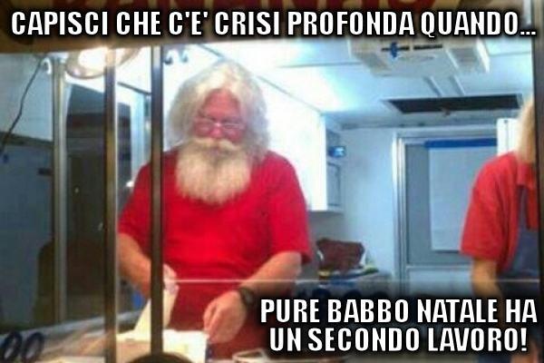 La crisi di Babbo Natale