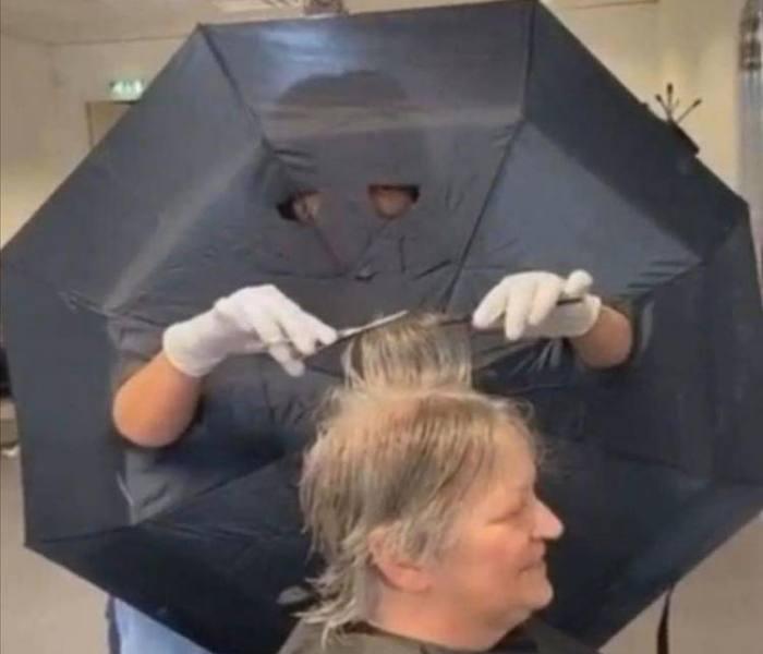 Protezione efficiente dal parrucchiere