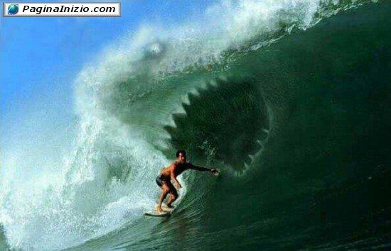 Un'onda mostruosa!