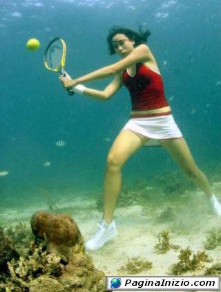 Tennis subacqueo!