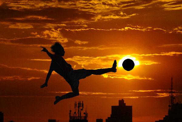 Un calcio al sole!