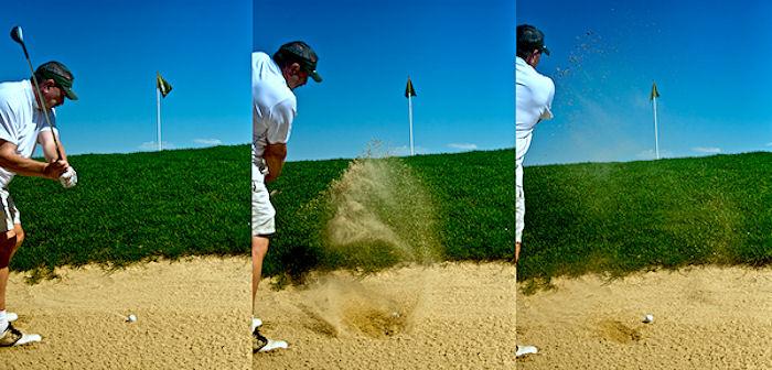 Lezione di golf...fallita!
