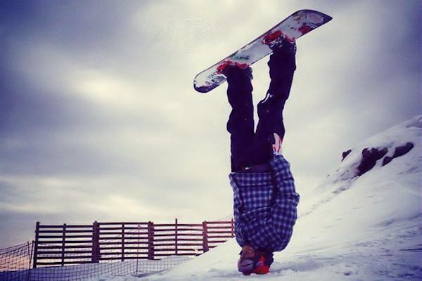 Snowboard alternativo!