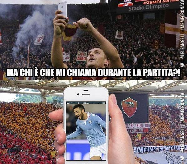 Totti, I'm coming!