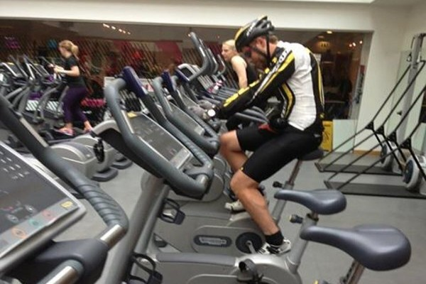 Ciclismo in palestra