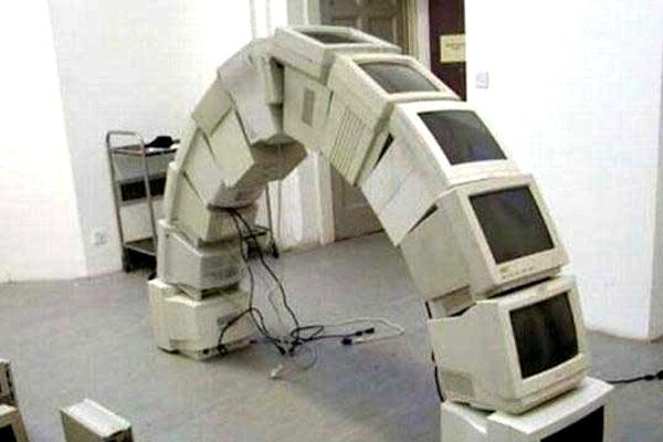 Monitor ad arco
