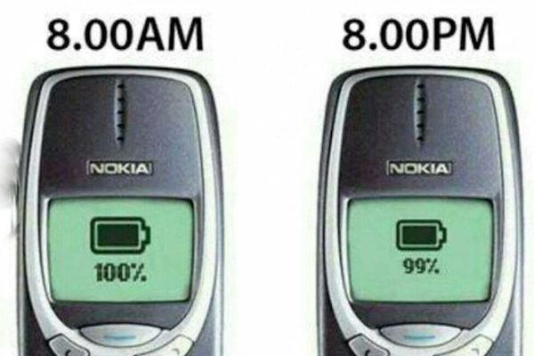 Non ci sono più i cellulari di una volta