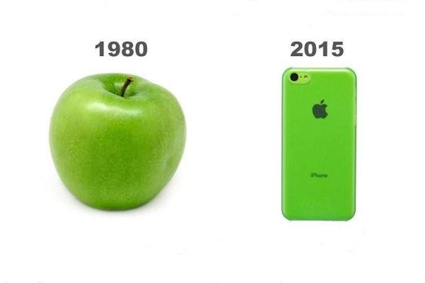 Una mela verde