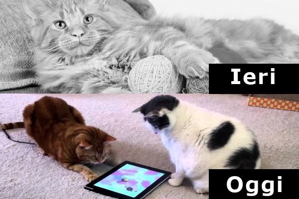 Le nuove tecnologie conquistano tutti...