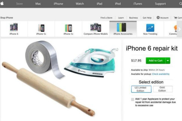 Il kit per aggiustare l'iPhone 6