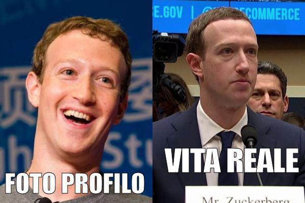 Mark Zuckerberg fuori e dentro Facebook