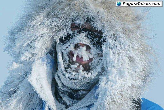 Fa un po' freddino...
