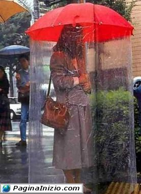 Per chi non sopporta la pioggia