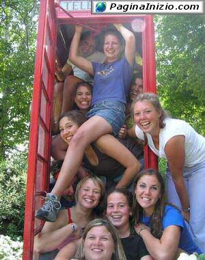 Una cabina per 11 amiche