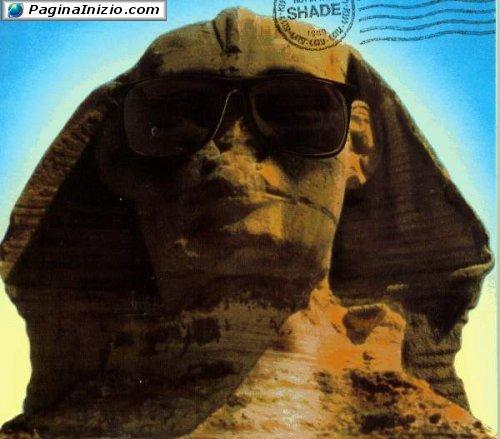 Alla Sfinge dà noia il sole